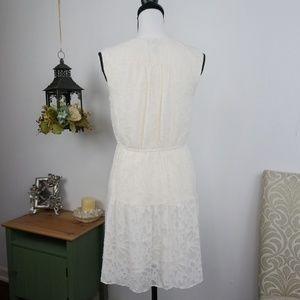 LOFT Dresses - LOFT Sleeveless Dress Blouson Style Fully Lined XS